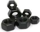 Black Hex nut